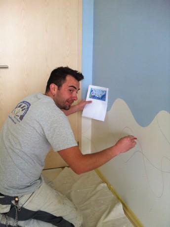 Malování dětských pokojů praha